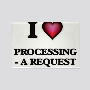 I Love Processing - A Request Magnets