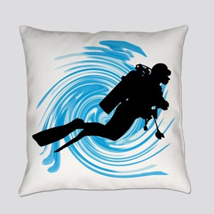 SCUBA Everyday Pillow