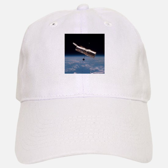 Hubble Space Telescope in orbit Baseball Baseball Cap