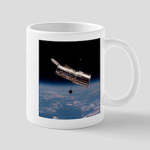 Hubble Space Telescope in orbit Mugs