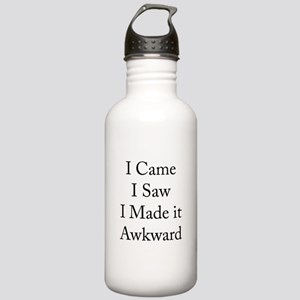 I Made it Awkward Stainless Water Bottle 1.0L