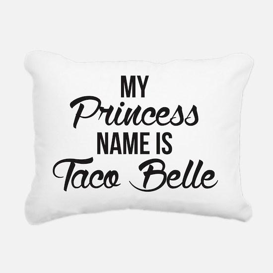 Unique Taco bell Rectangular Canvas Pillow