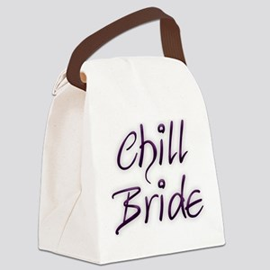 Chill Bride Canvas Lunch Bag