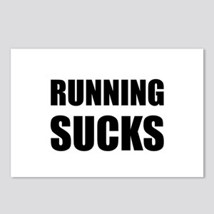 Running sucks Postcards (Package of 8)