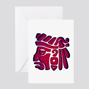 WARRIOR Greeting Cards
