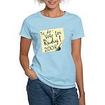 Vote Rudy Giuliani Reminder Women's Light T-Shirt