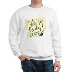 Vote Rudy Giuliani Reminder Sweatshirt