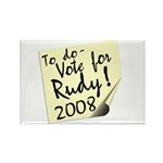 Vote Rudy Giuliani Reminder Rectangle Magnet (100