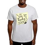 Vote Rudy Giuliani Reminder Light T-Shirt