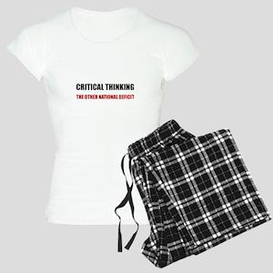 Critical Thinking National Women's Light Pajamas