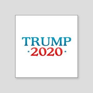 """Donald Trump - 2020 Square Sticker 3"""" x 3"""""""