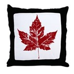 Cool Maple Leaf Souvenirs Canada Throw Pillow