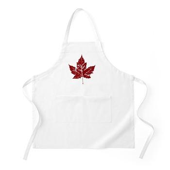 Cool Maple Leaf Souvenirs Canada Apron