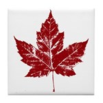 Cool Maple Leaf Souvenirs Canada Tile Coaster