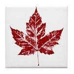 Cool Maple Leaf Souvenirs Canada Tile Coaster
