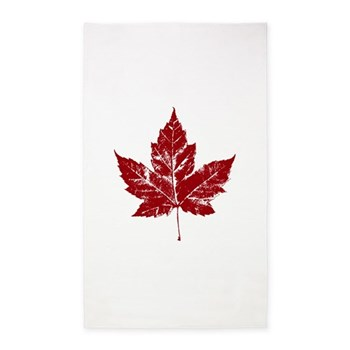 Cool Maple Leaf Souvenirs Canada Area Rug