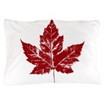 Cool Maple Leaf Souvenirs Canada Pillow Case