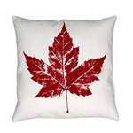 Cool Maple Leaf Souvenirs Canada Everyday Pillow