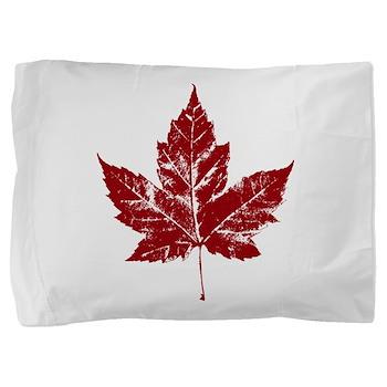 Cool Maple Leaf Souvenirs Canada Pillow Sham