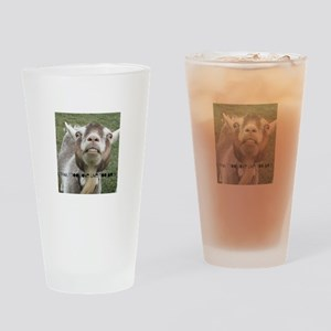 Highwired Goat Drinking Glass