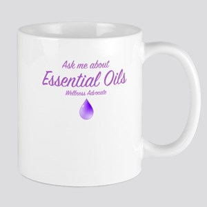 Ask Me About Essential Oils Mugs