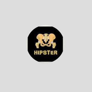 Hipster Mini Button