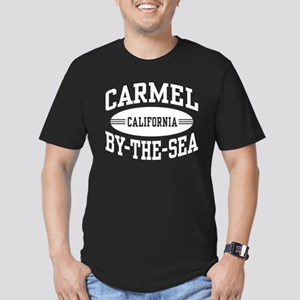 Carmel By The Sea Men's Fitted T-Shirt (dark)