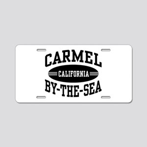 Carmel By The Sea Aluminum License Plate