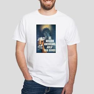 85 Million Americans White T-Shirt