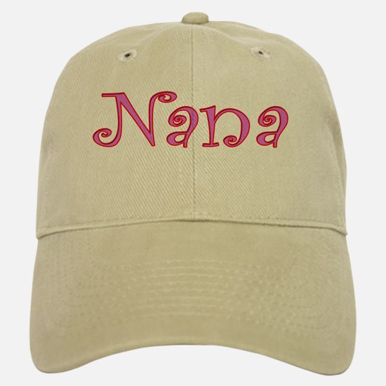 Nana cutout design Baseball Baseball Cap