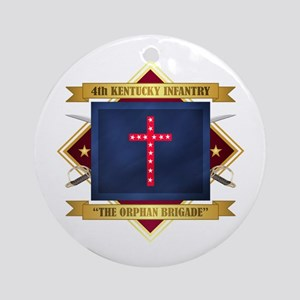 4th Kentucky Infantry Round Ornament
