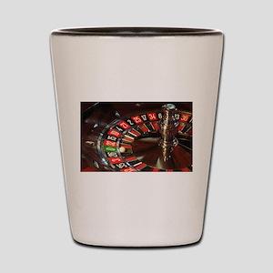 Roulette Shot Glass