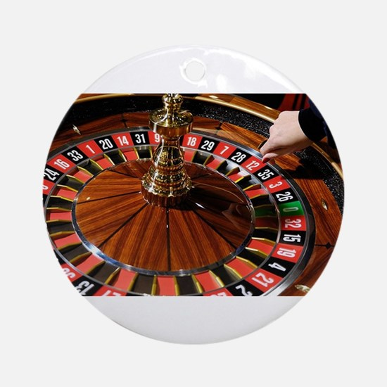 Roulette Round Ornament