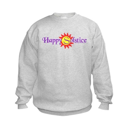 Happy Solstice Kids Sweatshirt