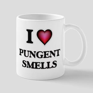 I Love Pungent Smells Mugs