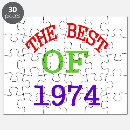 The Best Of 1974 Puzzle