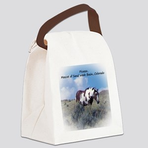 Picasso, Mascot of Wild Horses o Canvas Lunch Bag