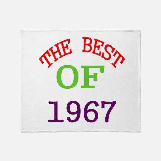 The Best Of 1967 Throw Blanket