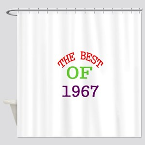 The Best Of 1967 Shower Curtain