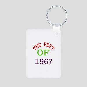 The Best Of 1967 Aluminum Photo Keychain