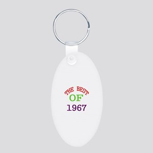 The Best Of 1967 Aluminum Oval Keychain