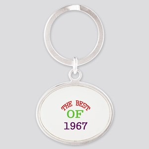 The Best Of 1967 Oval Keychain
