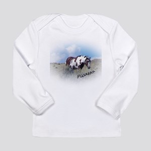 Picasso, Mascot of Sand Wash B Long Sleeve T-Shirt