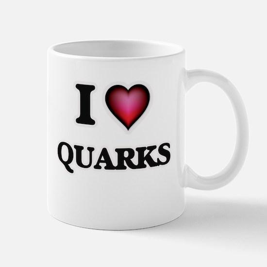 I Love Quarks Mugs