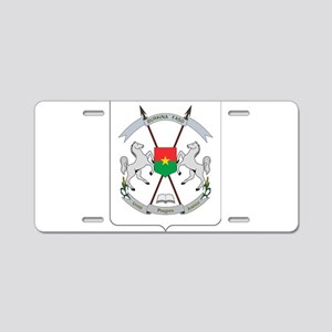 Coat of Arms of Burkina, Ar Aluminum License Plate