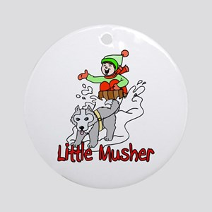 Little Musher Ornament (Round)