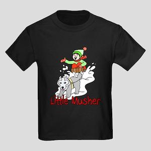 Little Musher Kids Dark T-Shirt