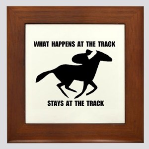 RACETRACK Framed Tile