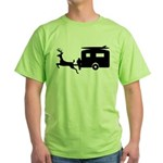 Surfing Deer RV Tiny Trailer T-Shirt