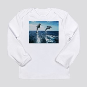 Twin Dolphins Long Sleeve T-Shirt